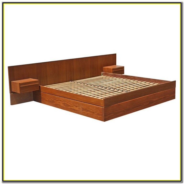 Platform King Size Bed Plans