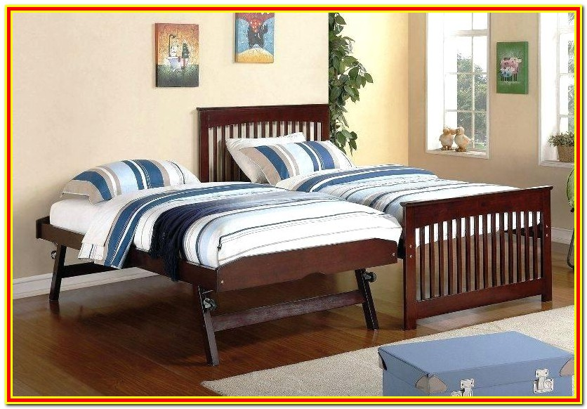 Pop Up Trundle Bed Frame Instructions