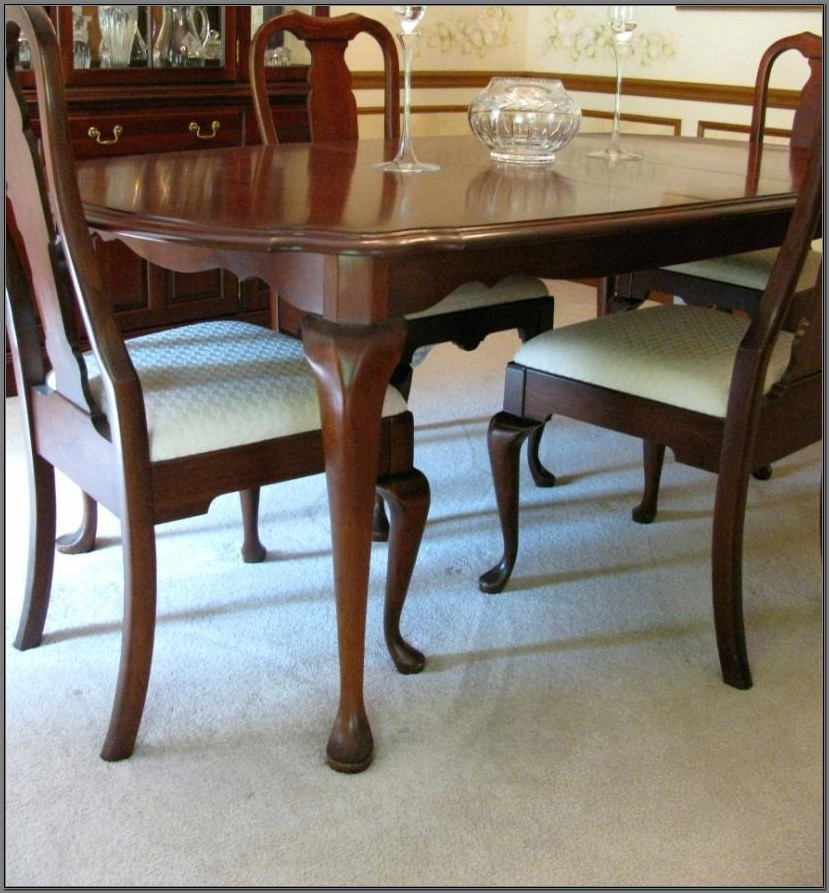 Queen Anne Dining Room Sets Thomasville
