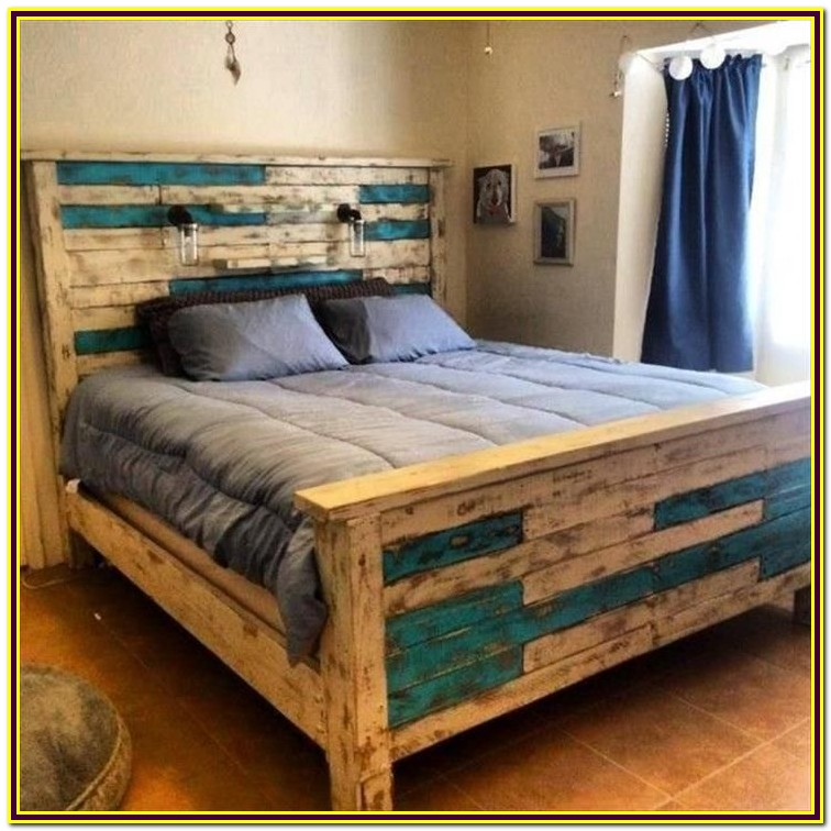 Queen Bed Frame Wood Diy