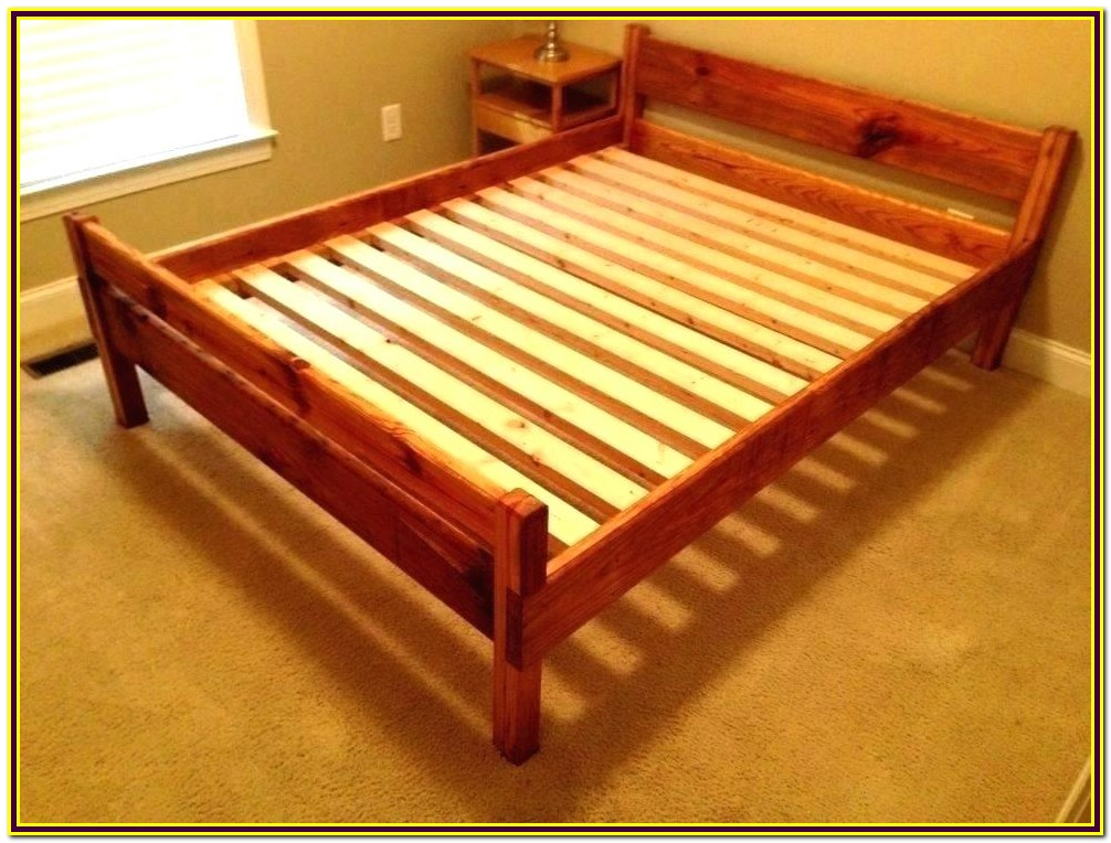 Queen Bed Frame Wood Plans