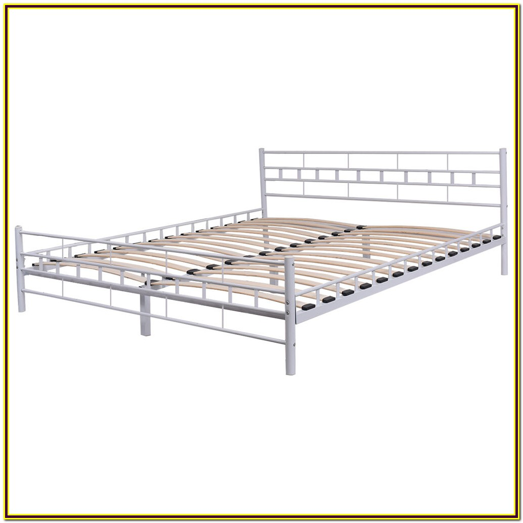 Queen Bed Frame Wooden Slats