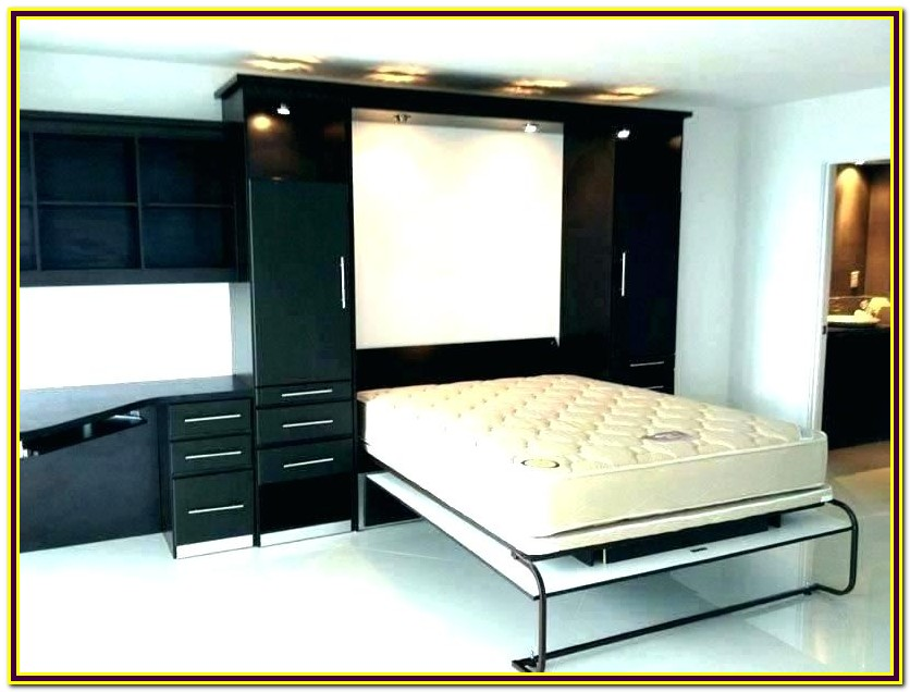 Queen Murphy Bed With Desk Kit