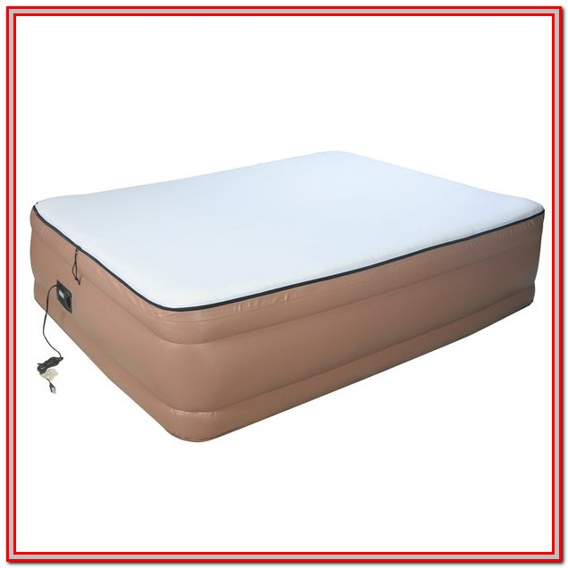 Queen Size Airbed With Pump