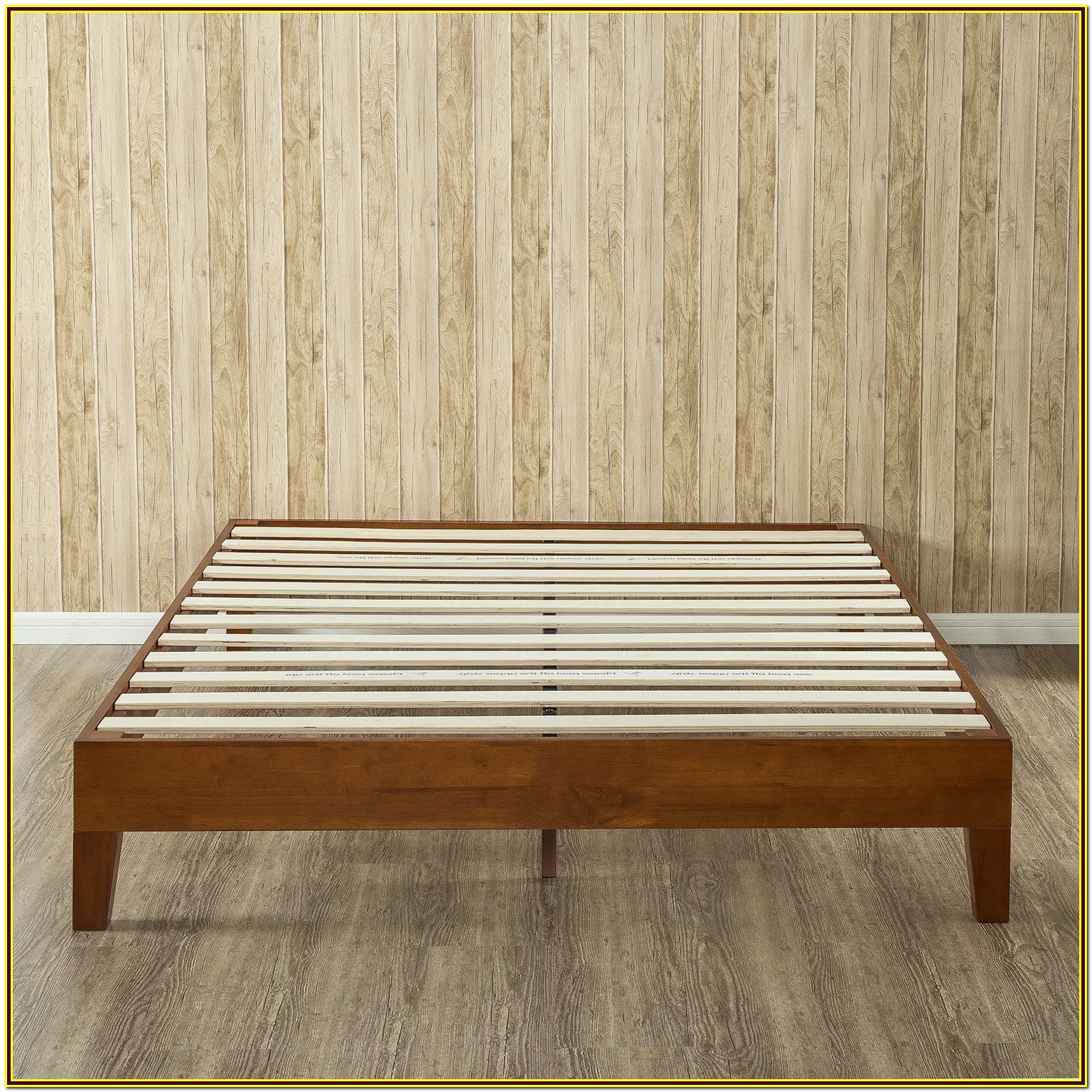 Queen Size Wood Platform Bed Frame
