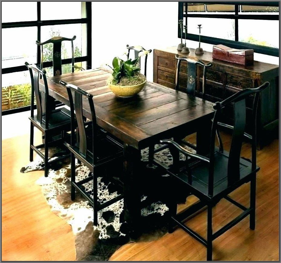 Rustic Furniture Dining Room Set