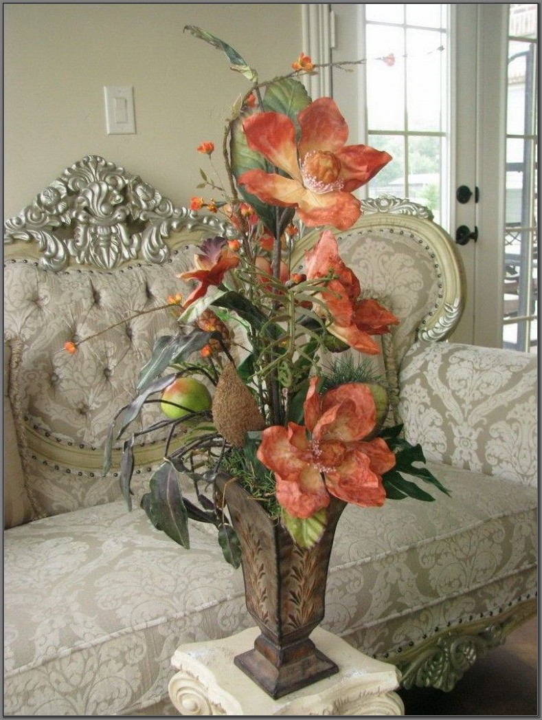 Silk Flower Arrangements For Dining Room Table