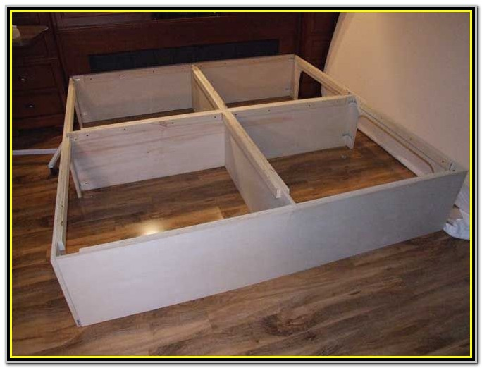 Simple King Size Platform Bed Plans Free