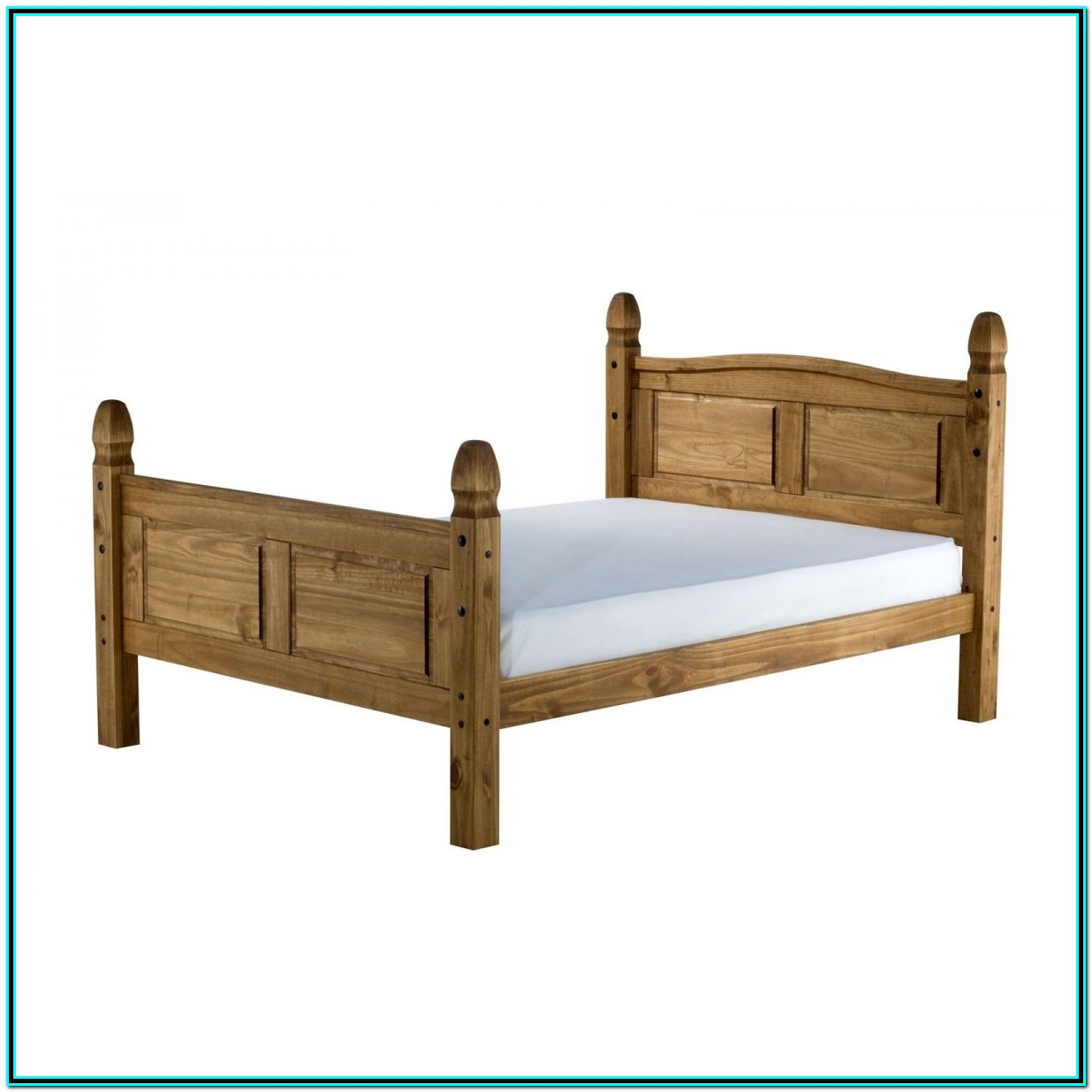 Small Double Solid Wood Bed Frame