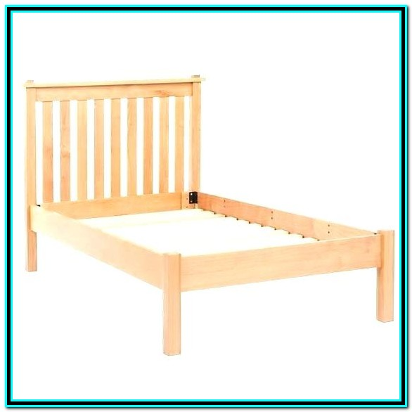 Solid Wood Bed Frame Double