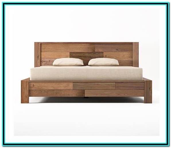 Solid Wood Bed Frame King