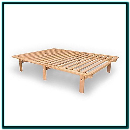 Solid Wood Twin Platform Bed Frame
