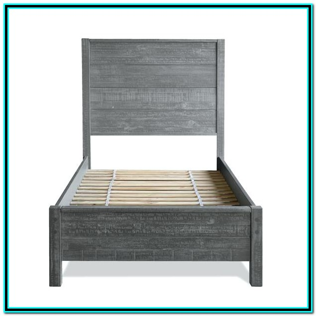 Solid Wood Twin Size Bed Frame