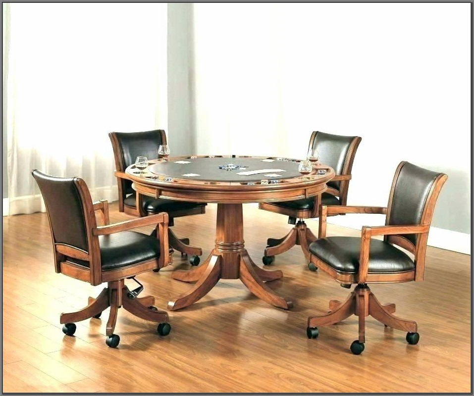 Swivel Dining Room Chairs With Casters