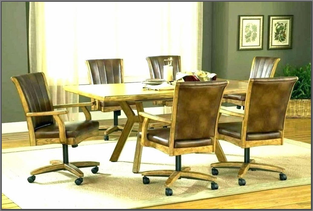 Swivel Dining Room Chairs Without Casters