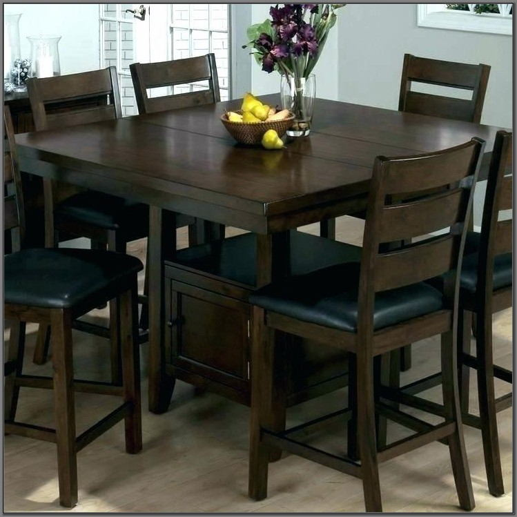 Tall Dining Room Table Set