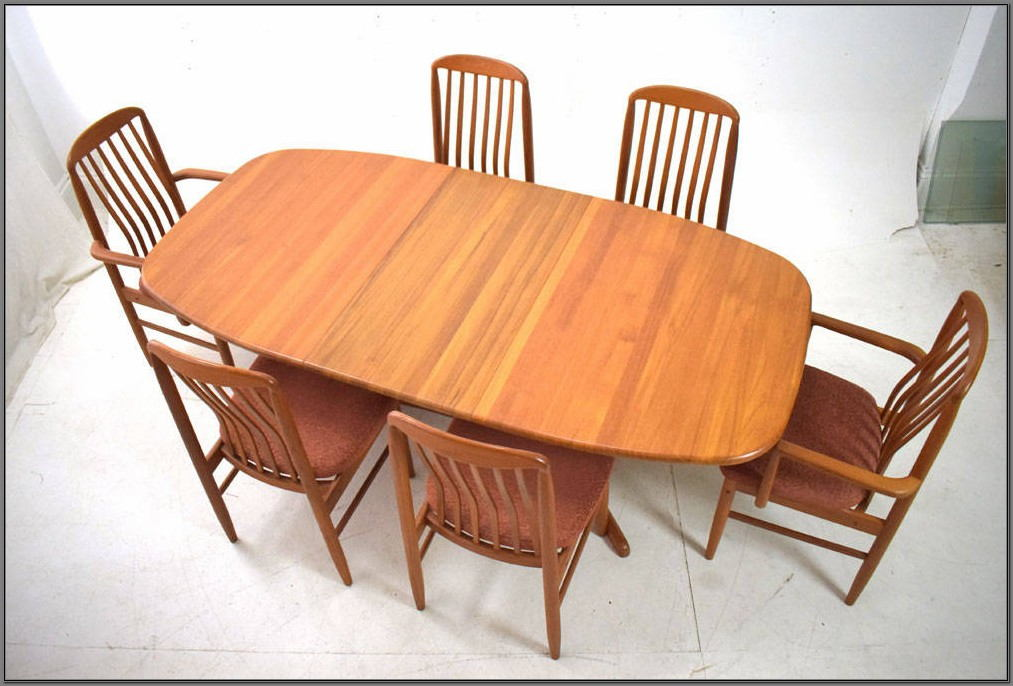 Teak Indoor Dining Room Sets