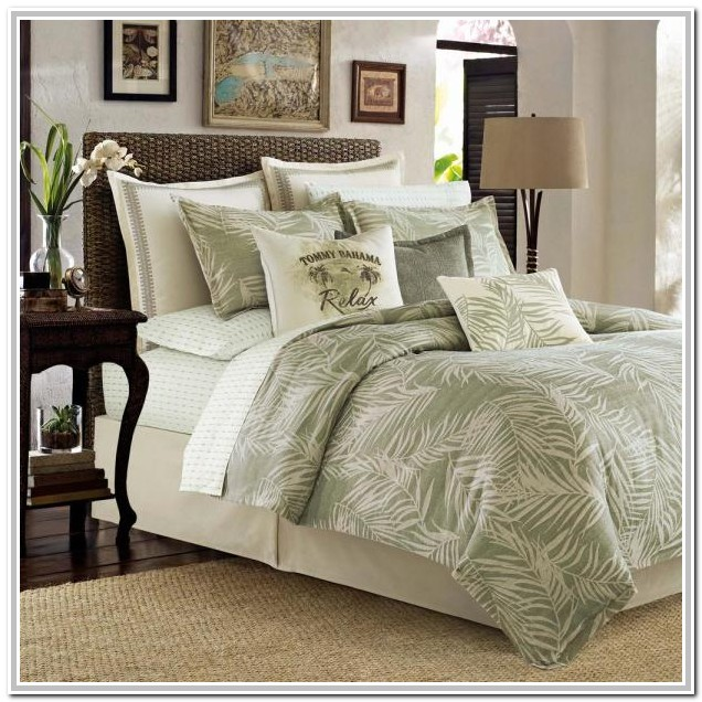 Tommy Bahama Comforter Set Queen