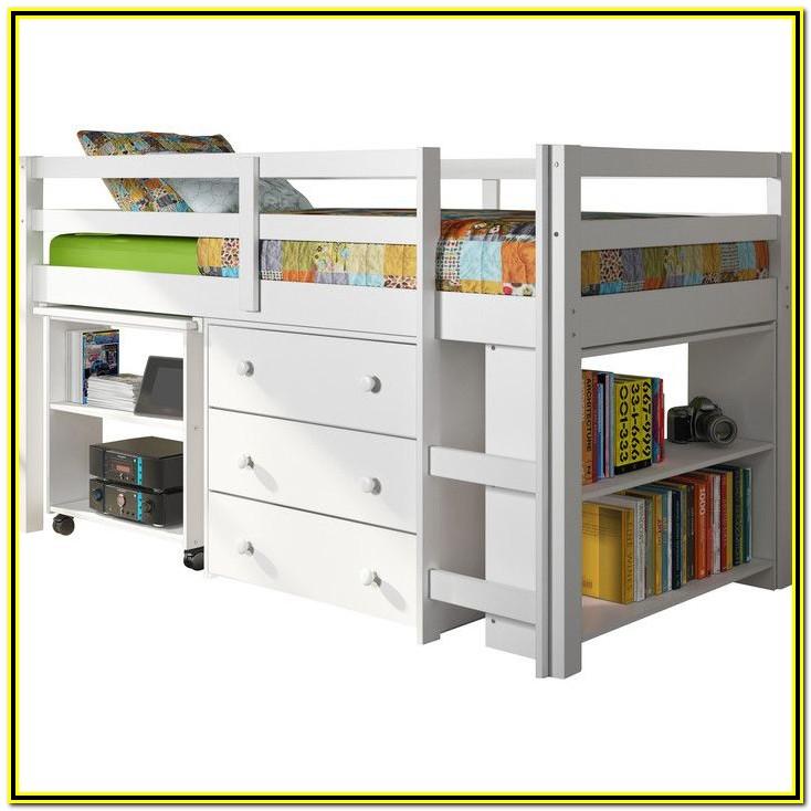Twin Low Loft Bed With Storage Wayfair