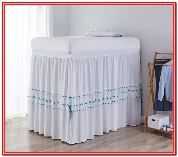 Twin Xl Bed Skirt Dorm