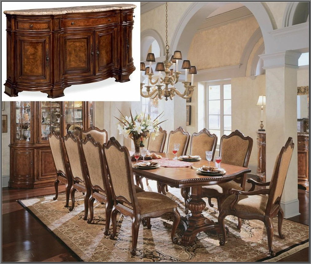 Universal Furniture Villa Cortina Dining Room