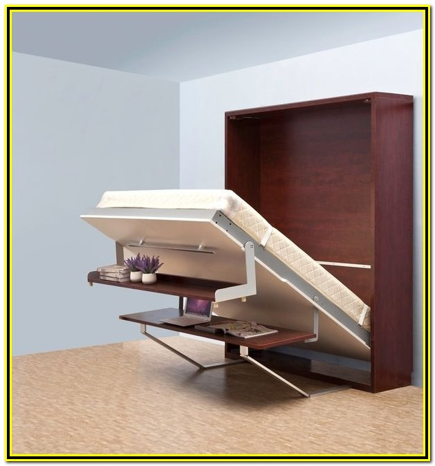Vertical Murphy Bed With Desk Plans