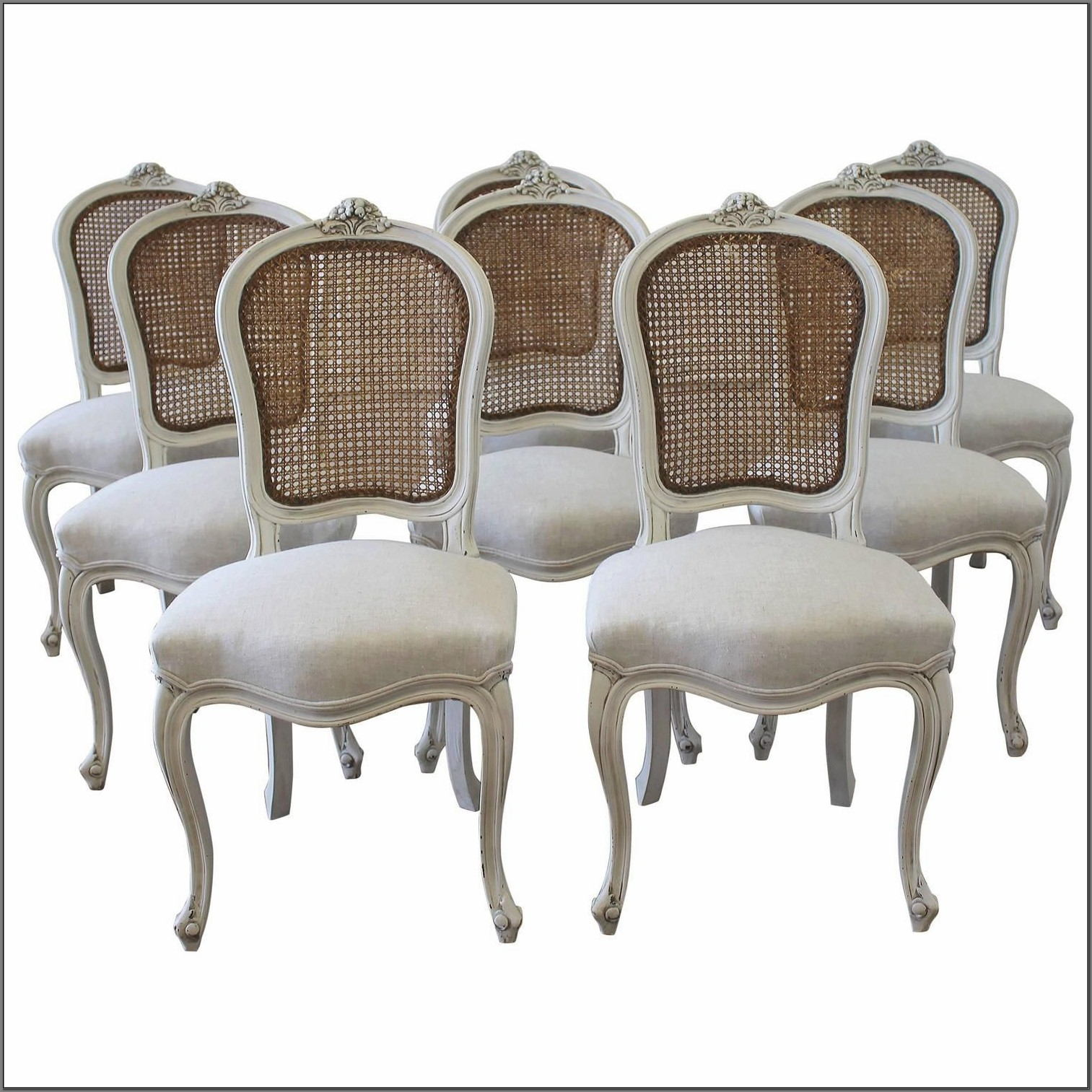 Vintage French Dining Room Chairs