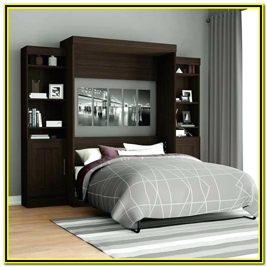 Wall Bed With Desk Australia