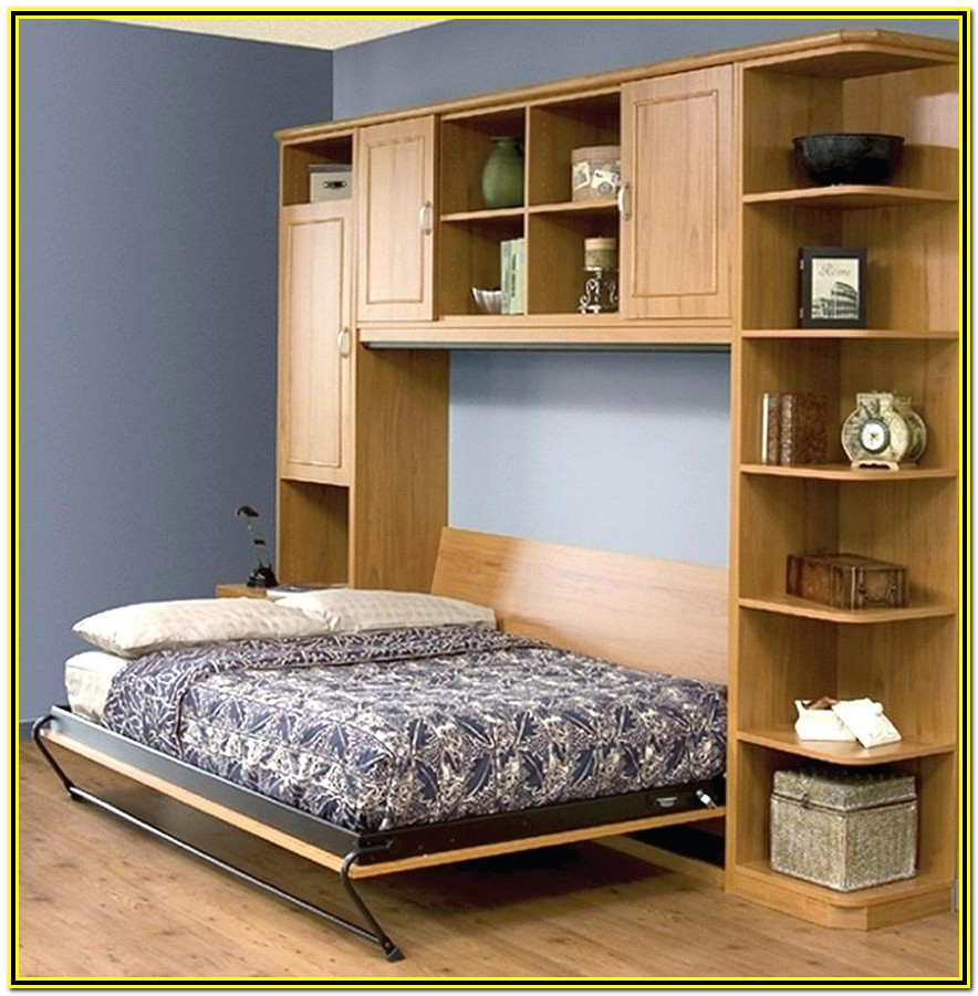 Wall Bed With Desk Canada