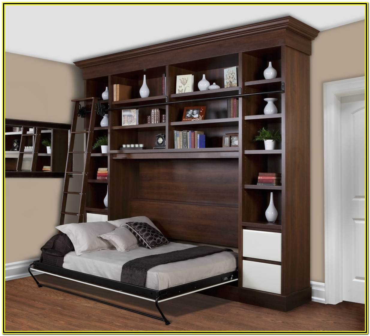 Wall Bed With Desk Costco