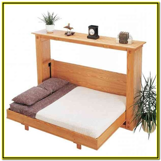 Wall Bed With Desk Ikea