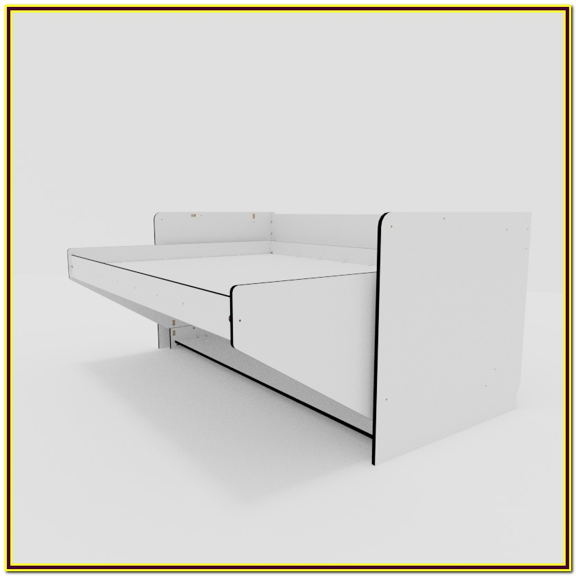 Wall Bed With Desk Kit