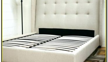 White Full Size Bed Frame With Headboard
