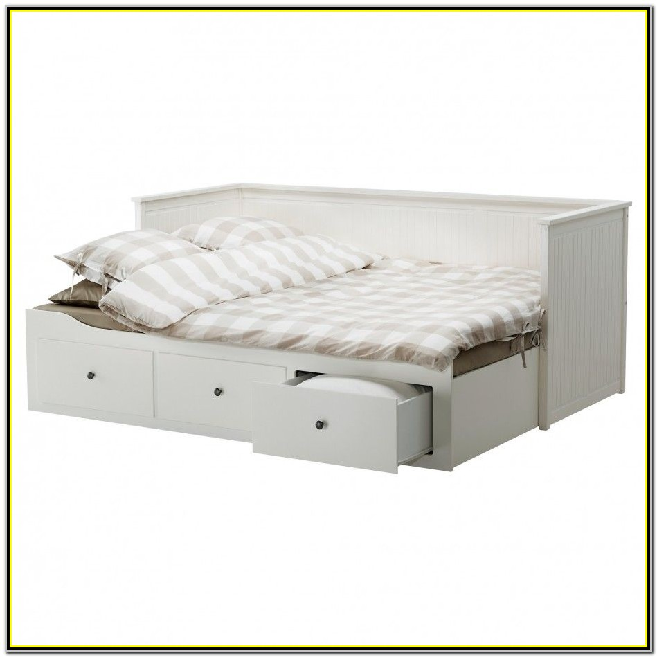 White Wood Full Size Bed Frame