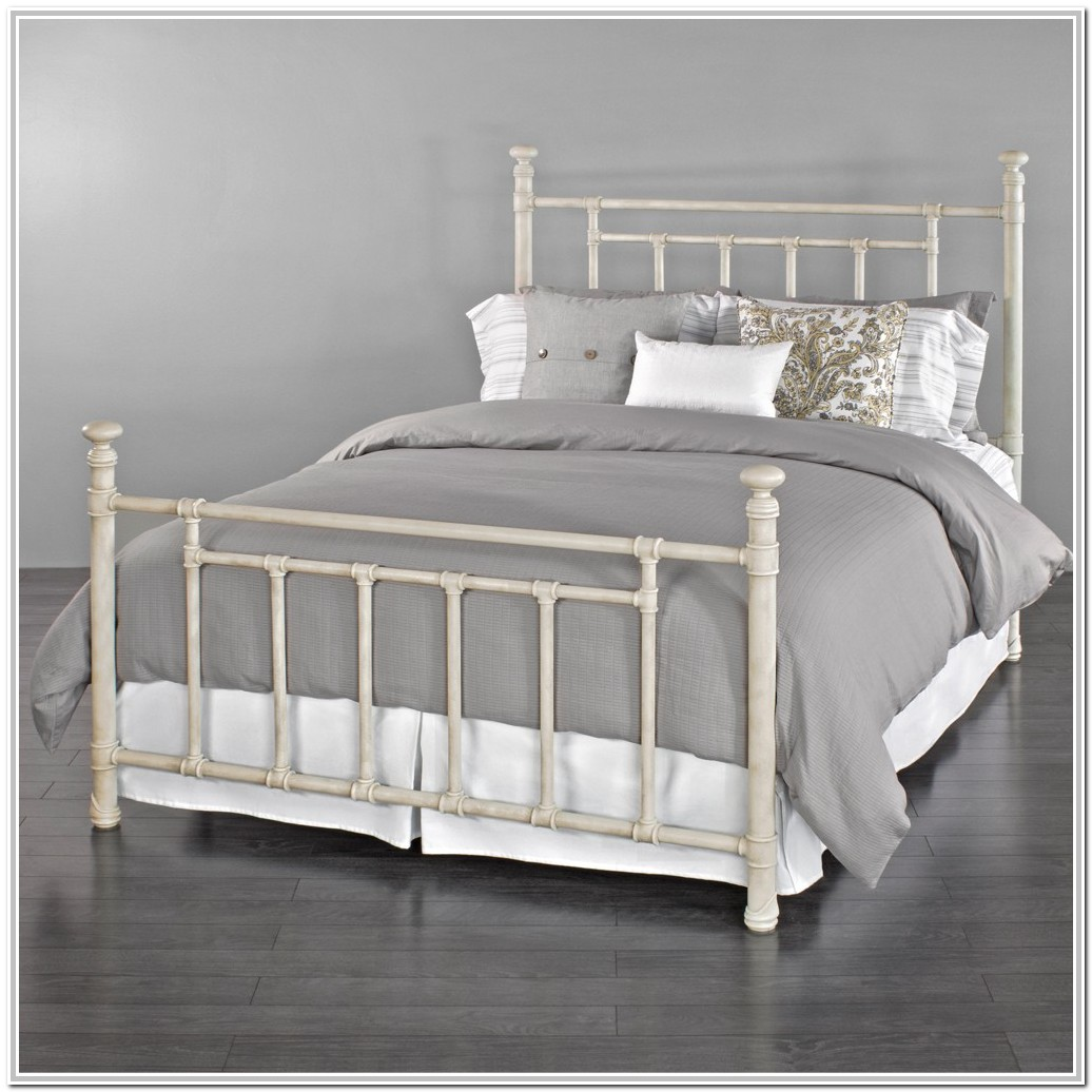 White Wrought Iron Bed Ikea