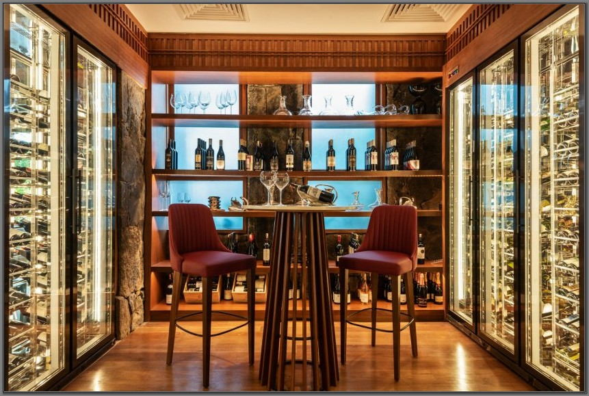 Wine Cellar In Dining Room