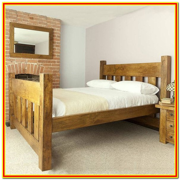 Wooden King Size Bed Frame Uk