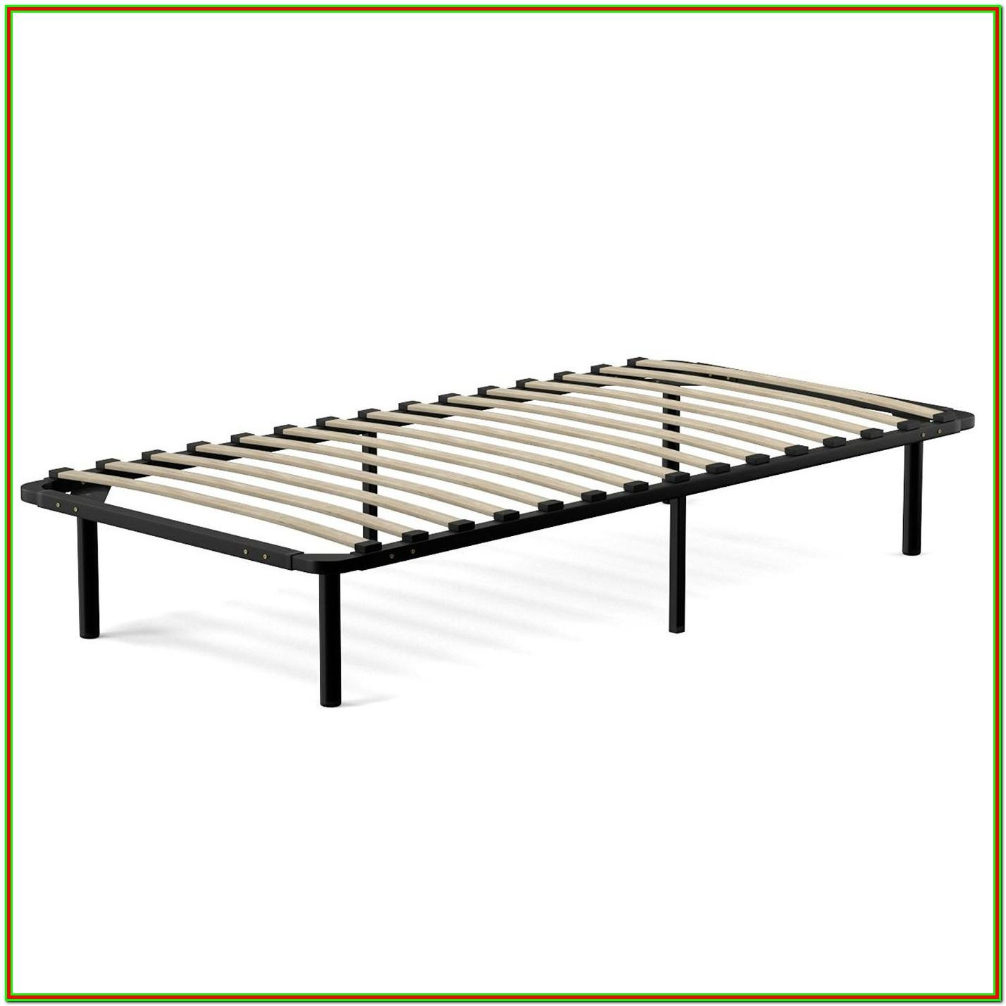 Wooden Twin Platform Bed Frame