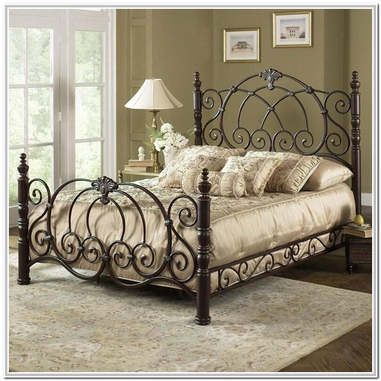 Wrought Iron Queen Bed Gumtree