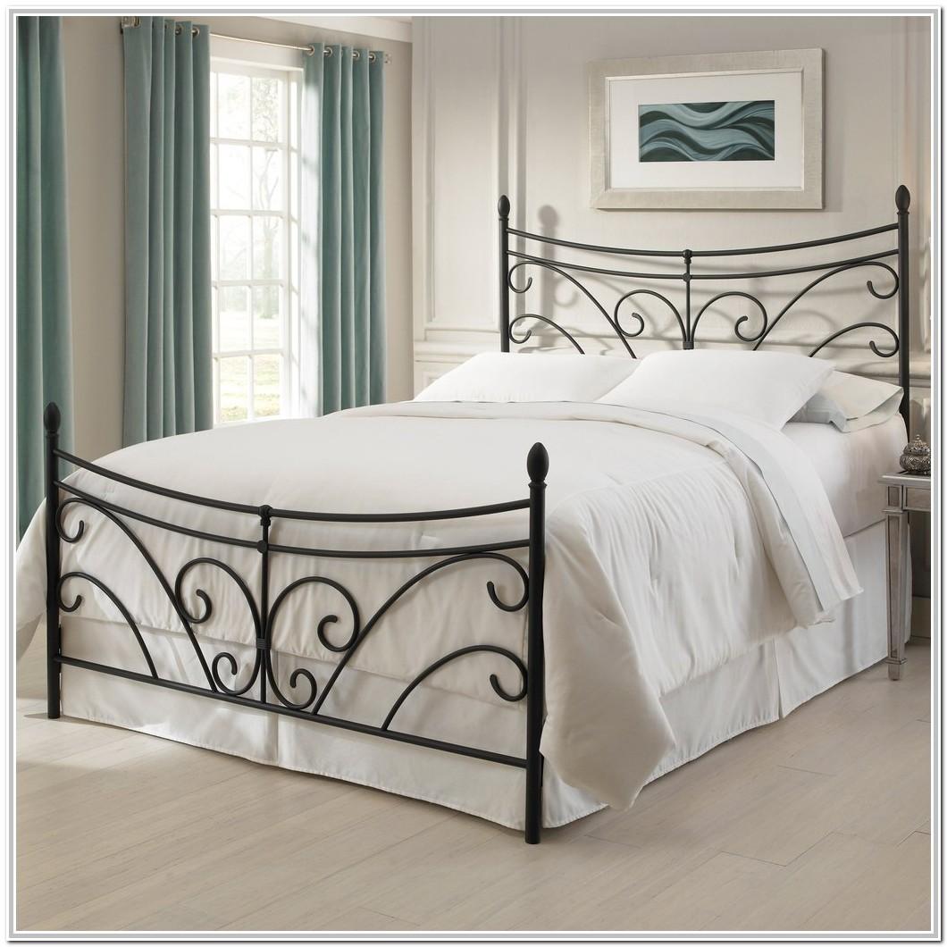 Wrought Iron Queen Bed Headboard