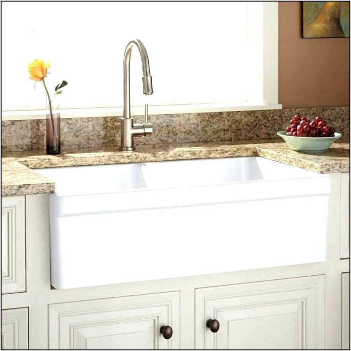 33 Fireclay Kitchen Farmsinks With Decorative Front