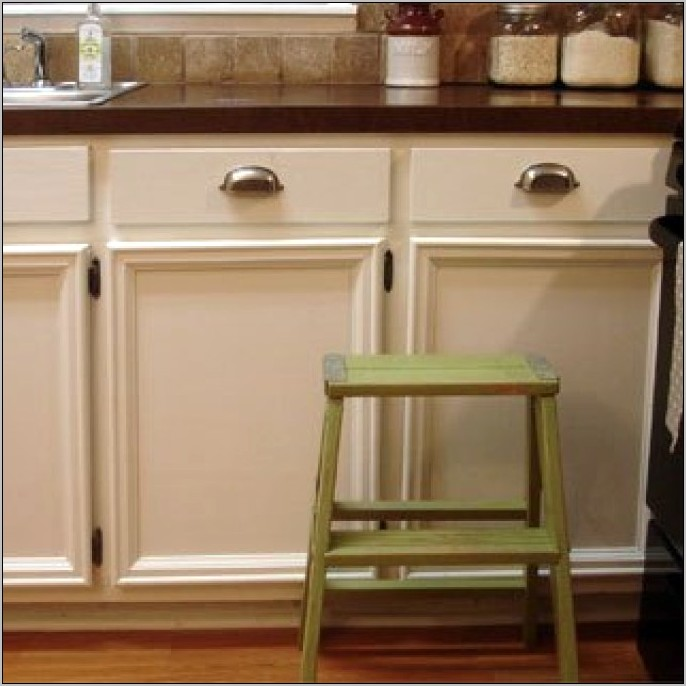 Adding Decorative Moulding To Kitchen Cabinets