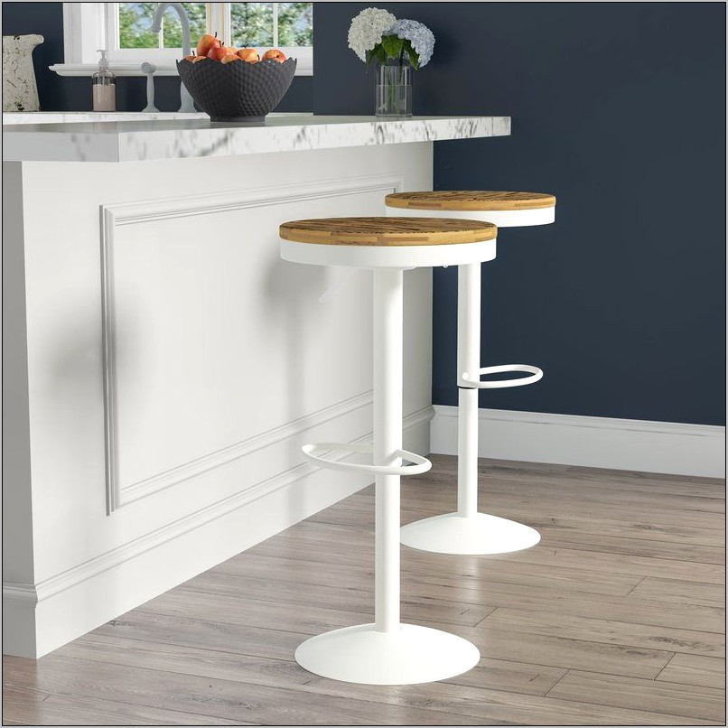 Adjustable Bar Stool Kitchen Decor