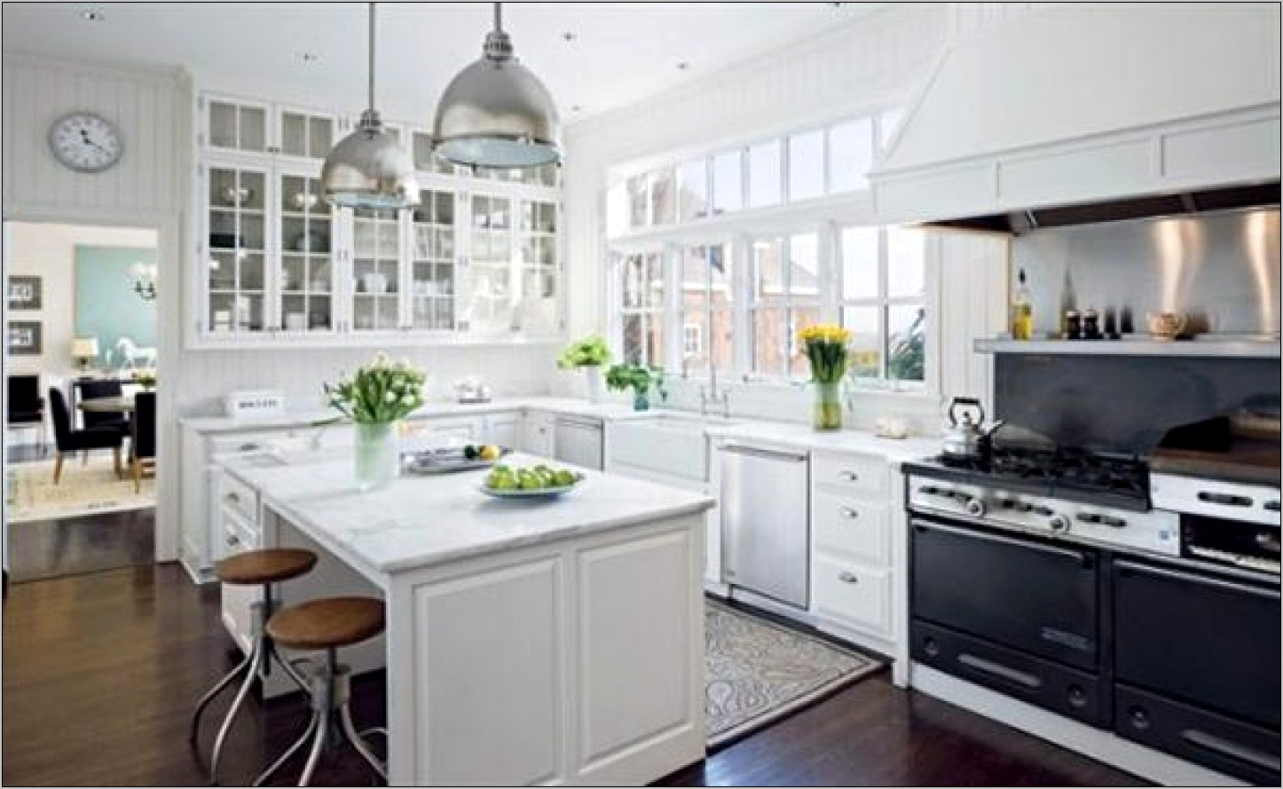 All White Kitchen Decorating Ideas