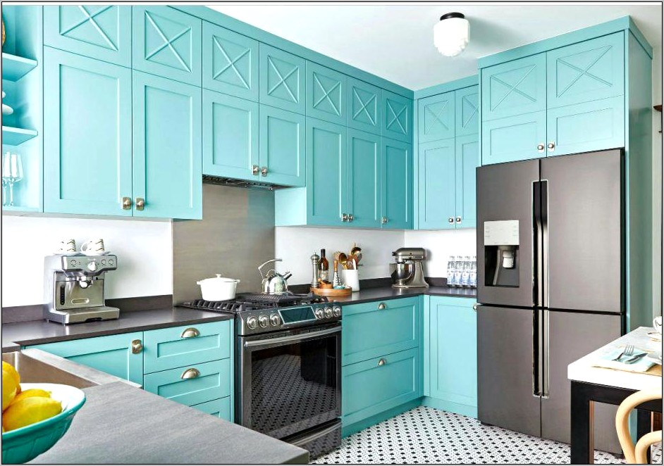 Aqua Kitchen Wall Decor