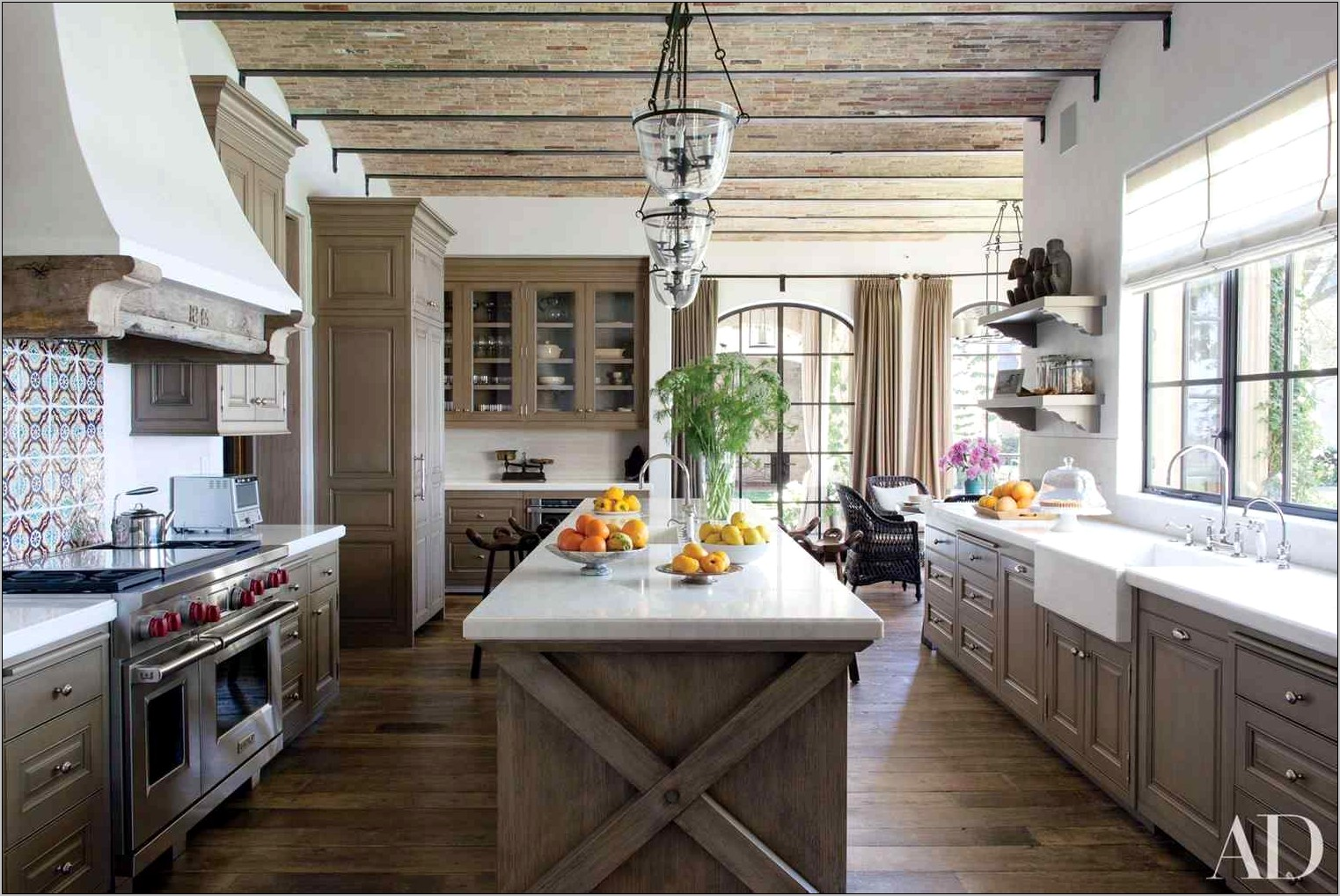 Barn Themed Kitchen Decor