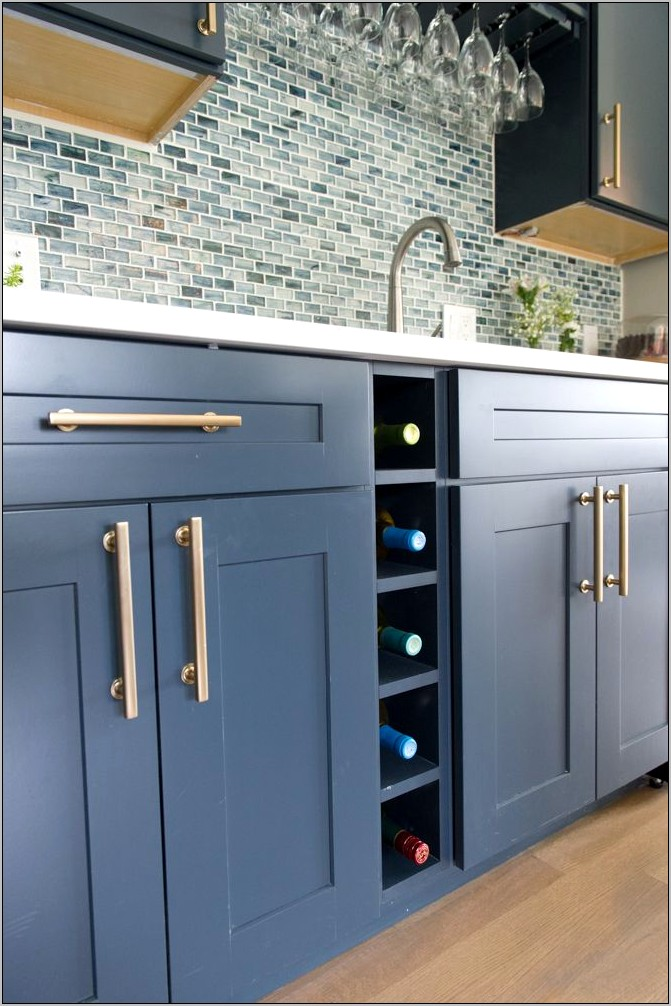 Beach Decor Kitchen Cabinets