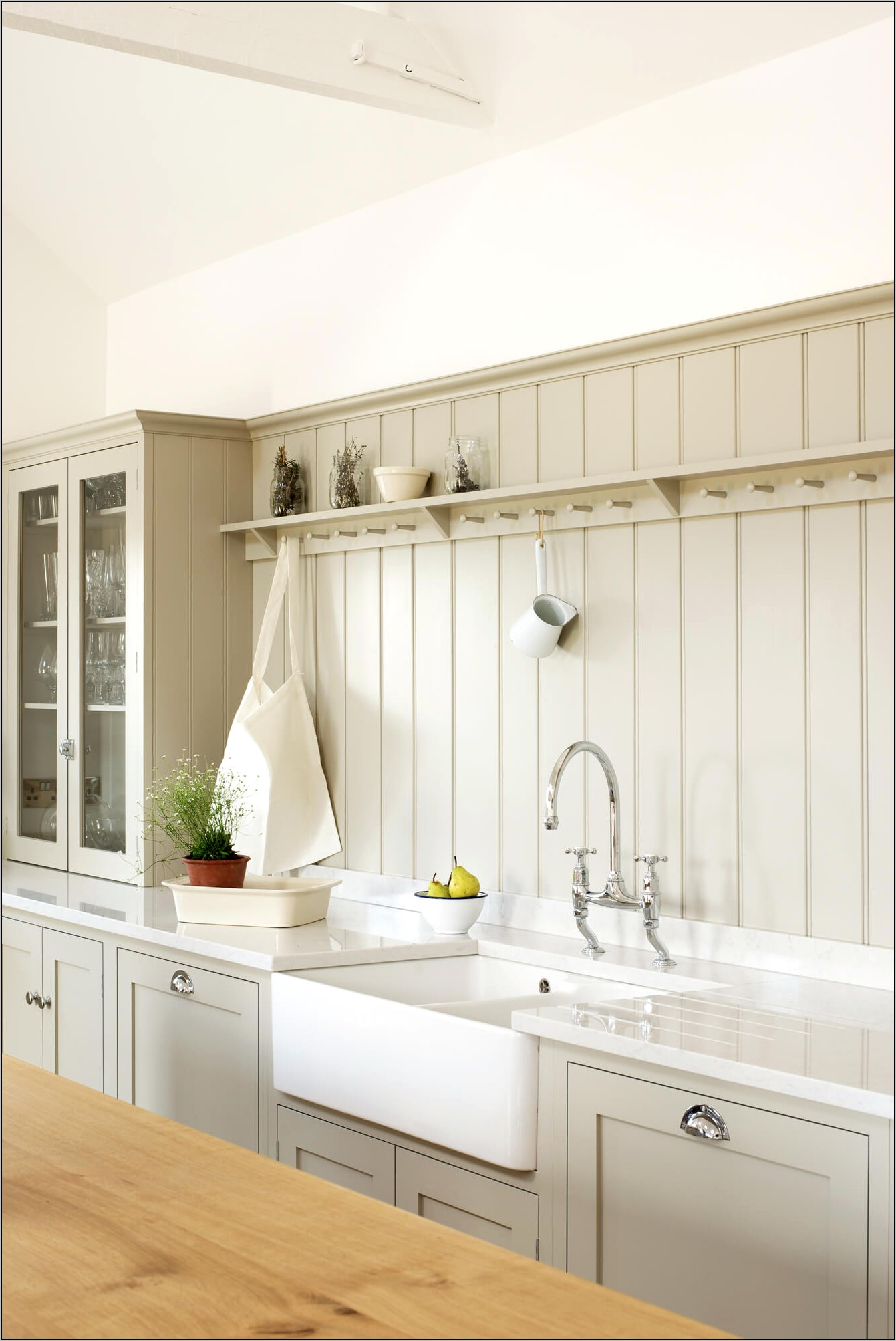 Beadboard Decorative Squares For Wall Kitchen