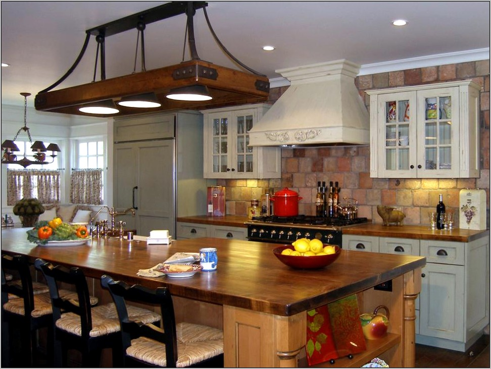 Beautifully Decorated Kitchen Countertops