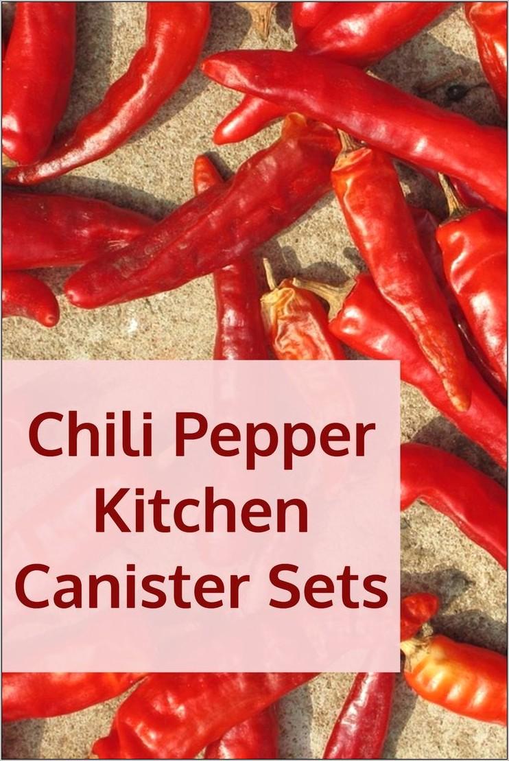 Bell Pepper Kitchen Decor